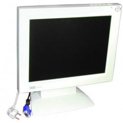 Monitore colore 14'' 35cm tft (220vca) schermo sistema videosorveglianza