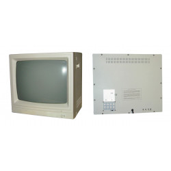 Monitor colour video surveillance monitor 20'' 45cm colour video monitors + audio, 220vac video surveillance monitor colour vide