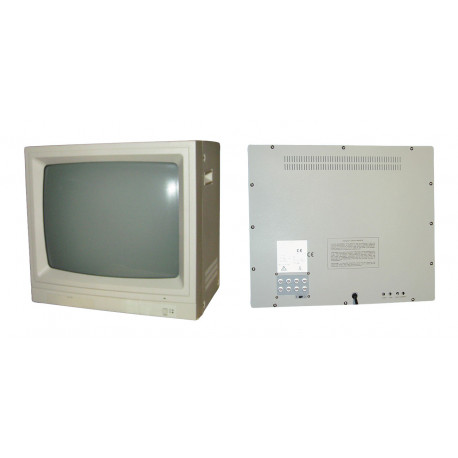 Monitor colour video surveillance monitor 20'' 45cm colour video monitors + audio, 220vac video surveillance monitor colour vide