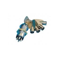 Keyswitch electric on off keyswitch with 4 pin, 5 keys round keyswitch electric on off keyswitch with 4 pin, 5 keys round lockin