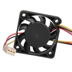 Ventilateur de refroidissement 40mm 40x40x10mm 12v dc noir 3 pin
