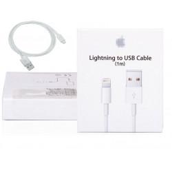 Cord 100 centimetri caricatore del cavo USB per iPhone syncronisateur 5 5c 5s + imballaggio in cartone