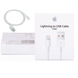 Cord 100 cm USB-Kabel für iphone syncronisateur 5 5c 5s + Kartonverpackungen