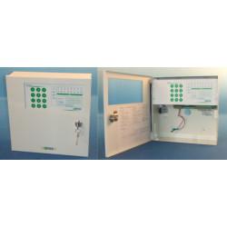 8 diebststahlsicherungszonen elektronische alarmzentrale 220vca