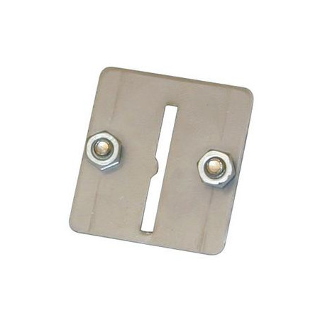 Metal plate 1 slit for coin with 1 slit for coin control systems coin control for automatic gate openers coin control units coin