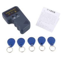 Tarjeta copiadora duplicadora programador cerca de 125 KHz etiqueta RFID (5 insignias en blanco incluidos)