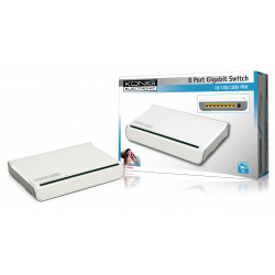 Ethernet 8-Port-Switch 10/100/1000 Mbps