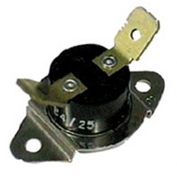 Bimetal switch ithermique closed bimetallic thermostat 60 ° C 6.35 washer dryer
