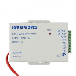 AC 110-240V to DC 12V 3A Power Supply For Door Access Control Power Supply Control