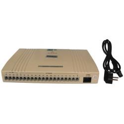 Central telephonique standard autocom 4 lignes 16 postes analogique autocommutateur téléphone pabx