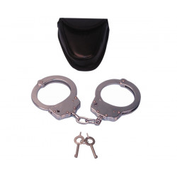 Handcuffs (sold in pair) metallic handcufs sh904 Police Edition Stainless Steel Professional Grade Handcuffs Stainless