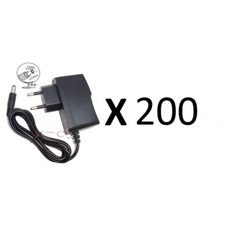 // 12VDC to 12VDC 500mA Switching Positive and Negative Power Supply