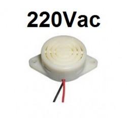 Zumbador sirena de alarma pitido 220v ac hyt-3015c 230v 240v dispositivo de sonido AC