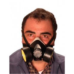 Gas mask for chemical risks nose + mouth filter gas mask gas safety virus flu china