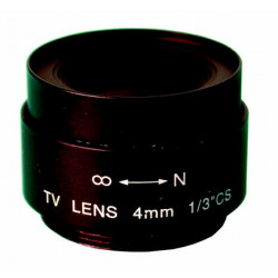 Lens camera lens 4mm lens with fixed iris for ckvso, cck audio camera without lens for m12s, m31s, m42q, 12vdc b w video monitor
