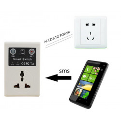 GSM Phone PDA Remote Socket Control Power Switch