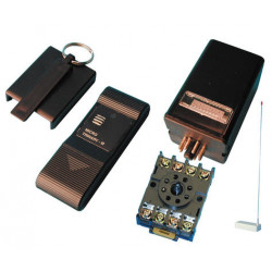 Pack domotique compose de 1 telecommande radio m6 albano mini16 1 recepteur radio rx16 ae3006  etc