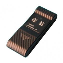 Telecomando miniatura 2 canali 50 300m 30.875mhz 13122b mini telecomando allarme cancelli porte automatiche motorizzazione
