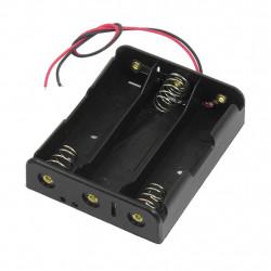 Battery Holder Case for 3 x 18650 3.7V Batteries