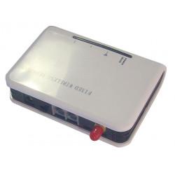Passerelle gsm 2 lignes adaptateur pour telephone fixe filaire ll-b2021 relais transformateur