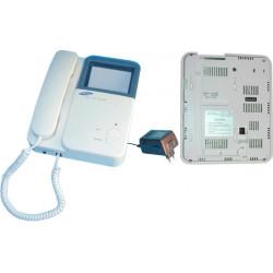 Monitore b n 4'' 8cm per videocitofono collettivo 4 fili 4bpvi monitor schermi video citofoni collettivi