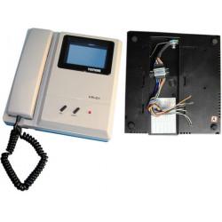 Monitore b n 4'' 8cm a shermo piatto per videocitofono monitor schermi video citofoni
