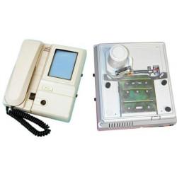 Moniteur surveillance video reconditionne n/b noir et blanc 4'' 8cm pour portier video (alpv à raj)
