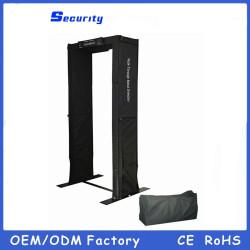 Türrahmen-Metalldetektor, beweglicher Weg durch Metalldetektortür, einfach zu tragen