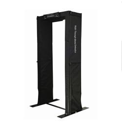 Detector de metales del marco de la puerta, Paseo portátil a través del detector de metales de la puerta, fácil de llevar