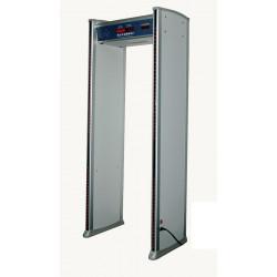 Portico deteccion metales 6 zonas electronico detector metales alarma porticos deteccion