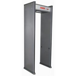 Metal detection portal 6 zones metal detector school airport electronic alarm