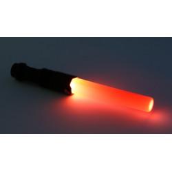 Baton lumineux q5 300ml mini cree torche Eclairage 3w rouge circulation route