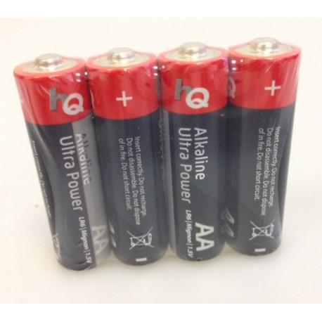 Lotto di 4 pile alcaline 1.5v lr06 aa am3 lr6 15a e91mn1500 815 4006 lr6uc alimentazione pila batterie