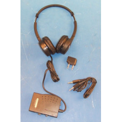 Casco stereo portatil a deparasitario auriculares estéreo con supresión de ruido