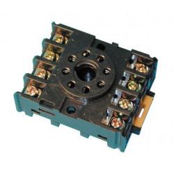 Support relais 8 pin 90-22 mk2p rail din pf083a recepteur rx40965 rx40967 rx40968 decodeur dcd ae/zc