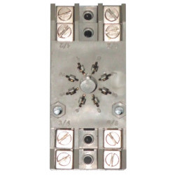 Support relais 90-22 60-2 70-2 rail din mk2pk pour recepteur radio reconditionne rx ou decodeur dcd