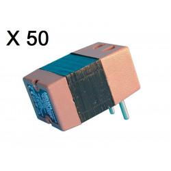 Lot de 50 convertisseurs tension 220v 110v 45w 50w changeur 220 110vca adaptateur electrique