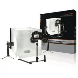 lampade a LED per mini studio fotografico 40 x 40 x 40 cm