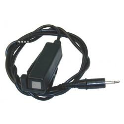 Microfono manos jack 2.5mm para walkie talkie alinco receptor induccion anatomico discreto phonito phonak