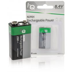 1 Batterie 9V Ni / MH-250mAh HQ