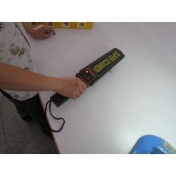 Détecteur de sécurité métaux alarme sonore et vibration detection fouille manuelle ts90