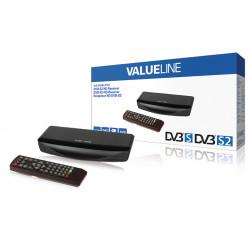 Récepteur full hd dvb-s2 1080p pvr hdmi lecteur multimédia