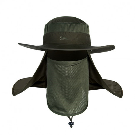 8ed54eefc80a89 Climbing wide brim waterproof fishing hat sun UV protection summer bucket  hat with Neck Face Curtain
