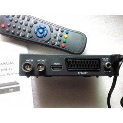 high quality the smallest mini HD DVB-T2 tv receiver compatilbe with DVB T/Mpeg-4/H.263