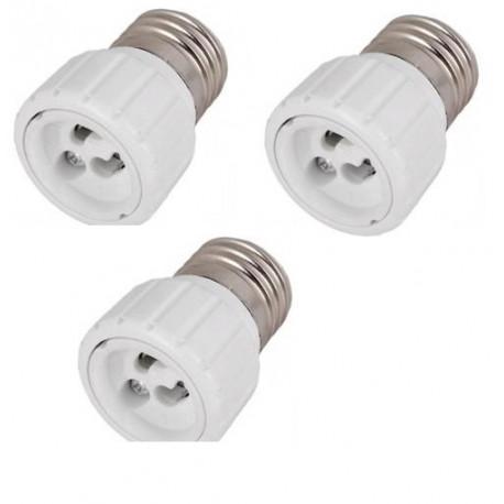 3 E27 Gu10 Adapter Lampenfassung Lampe Led 12v 24v 48v Buchse