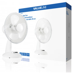 30cm table fan 220v oscillating fixed december 30 cm 3 speeds ventilation air efand30