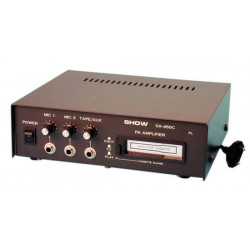 Amplifier electronic pa mono amplifier 15w mono pa amplifier cassette player tape recorder public adress public address mono pa