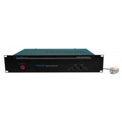 Amplificador electronico pa estereo 2x200w rms 8 ohm vpa2200mb public adress public adress amplificadores electronicos