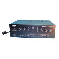 Amplificateur pa mono 90w 100v lecteur k7 220v 24v public adress paa605 50w 60w 70w 80w 240v