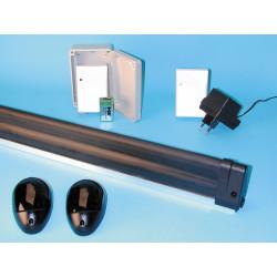 Kit sbarra di sicurezza + cellula + radio protezione anti schiacciamento sicurezza cancelli automatici